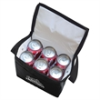 6 Can Collapsible Cooler Lunch Bag - Eco-friendly 6 can collapsible insulated cooler lunch bag with carry strap. Koi.