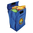 Non Woven Cooler Lunch Sack - Insulated cooler bag made from nonwoven polyester with a double sided specialty closure. Hermit-crab.