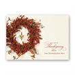 Berry Wreath Thanksgiving Card