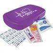 Compact Sun Kit - Summer first aid kit. Oval shape, pocket size, elegant details.