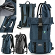 Spy Voyager Backpack - Polyester 23 liter backpack with laptop sleeve, internal organization and air mesh padding.