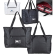 Bella Mia™ Committee Tote - Cross-weave tote and laptop case with front exterior pouch and organizer pockets.
