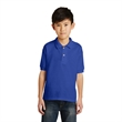 Gildan Youth DryBlend 6-Ounce Jersey Knit Sport Shirt. - Gildan Youth DryBlend 6-Ounce Jersey Knit Sport Shirt.