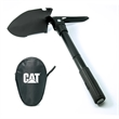FOLDING MULTIFUNCTION SHOVEL - This Folding Multifunction Shovel is constructed with durable tempered steel and a comfortable rubberized grip for handling.