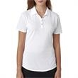 Ladies' Short-Sleeve Solid Polo - Ladies' Short-Sleeve Solid Polo