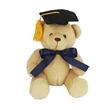 """6"""" Honey Bear w/Grad cap and Ribbon"""