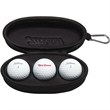 Titleist 3 Ball Sunglasses Case - Titleist Sunglasses Case and DT TruSoft Golf Balls