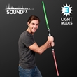 Light Up Deluxe Double Saber with Sound