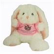 "10"" Lopsie Bunny with shirt and one imprint"