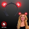 Red Light Up LED Mouse Ears Production