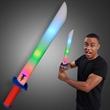 Imprinted Light Up Foam Sword
