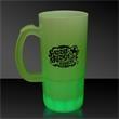 Green LED Glow Light Up Neon Look 20 oz Beer Mug - Green 20 oz LED Glow Light Up neon look drinking beer mug.