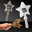 "7"" Star Hand Clapper - 7"" plastic star-shaped hand clapper"