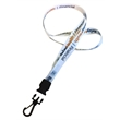 """USA Made Dye-Sublimation 3/4"""" Lanyard w/ Buckle Release"""