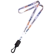 """USA Made Dye-Sublimation 5/8"""" Lanyard w/ Buckle Release"""