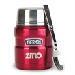 Thermos Stainless King Food Jar with Spoon - 16 Oz.