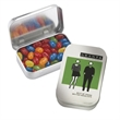 Rectangular tin with jelly beans - Rectangular shape tin filled with jelly beans