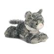 "8"" Lily Grey Tabby Cat"