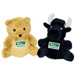 "7"" Bear/black bull w/ direct full color imprints"
