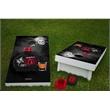 Official Wooden Cornhole Bean Bag Toss Game 24x48 Heavy Duty - Full Color Cornhole Style Bean Bag toss tailgate game