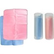 Towel In Case - Pink or blue colored towel in case