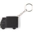 Truck shape tape measure key chain