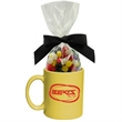 Ceramic Mug Stuffer with Jelly Beans Candy - Perfect ceramic mug stuffer drinkware with jelly beans candy.  Great food gift idea for the holiday or Christmas.