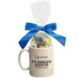 Ceramic Mug Stuffer with Jolly Ranchers Hard Candy - Perfect ceramic mug stuffer drinkware with jolly ranchers hard candy.  Great food gift idea for the holiday or Christmas.