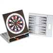 Magnetic Dart Board & Backgammond - Magnetic dartboard and backgammon game in black or silver