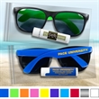 Sun Fun Kit with Neon Sunglasses and Natural Lip Balm - Neon sunglasses with Lip Balm in a reclosable bag.