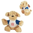 """9"""" Golden Puppy with imprinted tshirt"""