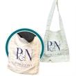 "Domestic Bag, Cotton Tote - Domestic Bag, Cotton Tote, 11"" x 4"" x 15"" x 4"", handle is 4"" x 22""."