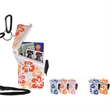 Flower Surf Safe® - Hibiscus flower pattern, waterproof case with patented angle design with lanyard.