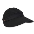 Cotton Visor With Detachable Crown - Cotton visor with detachable crown