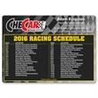 Racing Schedule Magnet