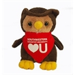 """6"""" Lil' Owl with bandana and one color imprint"""