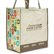 "Laminated 100% Recycled Shopper - Laminated 100% recycled shopper bag with 23.5"" shoulder straps."