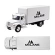 Freightliner M2 Box Truck - 1:43 Scale Replica - Model Freightliner M2 box truck replica on a 1:43 scale.