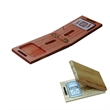 Wooden Travel Cribbage & Card Set - Wooden folding travel cribbage with hollowed out storage compartment for a deck of playing cards.