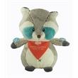 "9"" Wildwood Raccoon with bandana and one color imprint"