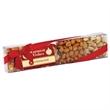 4 Way Nut Sensation w/bow - Small - Small 4 way box with pistachios, honey roasted peanuts, mixed nuts & cashews.