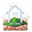 House Shape Full Color Magnet