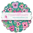 Flower Shaped Full Color Coaster - Make a big lasting impression with these full color process coasters!