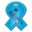 Awareness Ribbon Full Color Coaster - Make a big lasting impression with these full color process coasters!