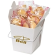 Fortune Cookies In Carry Out Container - Carry out container with 8 fortune cookies.