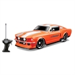"""1/24 Scale 7"""" Remote Control Car 1967 Ford Mustang GT - 1/24 Scale 7"""" Remote Control Car. Pistol Grip Hand Controller. Featuring rims by premiere wheel makers."""