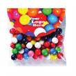 Gumballs / Header Bag with Round Top - Gumballs in a header bag with a round top
