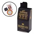 Slot Machine Box / Casino Mix - Slot machine shaped box filled with a poker chip, chocolate dice and a chocolate playing card