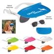 Two-Tone Visor Sunglasses