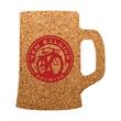 Beer Mug Shaped Cork Coaster - Mug shape durable cork coaster.